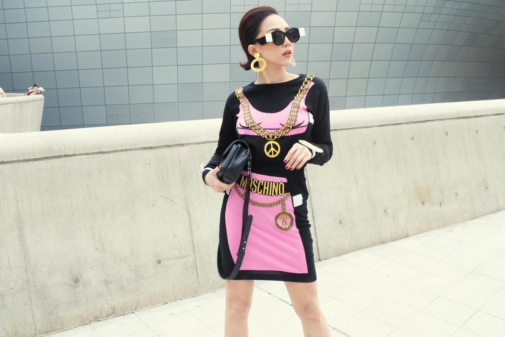 Tóc Tiên và Kelbin Lei xung trận Tuần lễ thời trang Seoul với phong cách chất lừ - Ảnh 7.