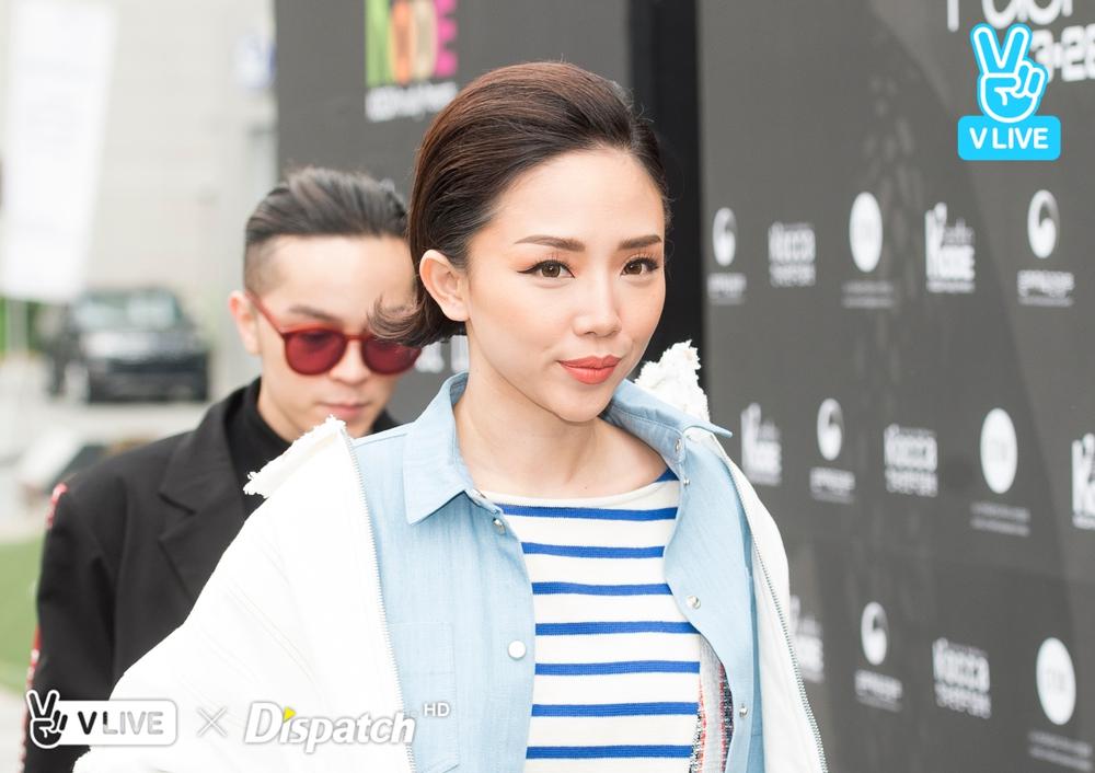Tóc Tiên và Kelbin Lei xung trận Tuần lễ thời trang Seoul với phong cách chất lừ - Ảnh 14.