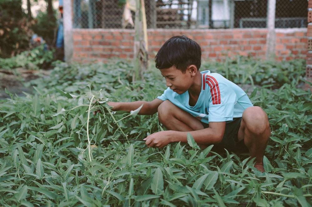 Bộ ảnh xúc động về cậu bé mồ côi ở Quảng Nam tự lập từ năm 12 tuổi, nuôi lợn để được đến trường - Ảnh 13.