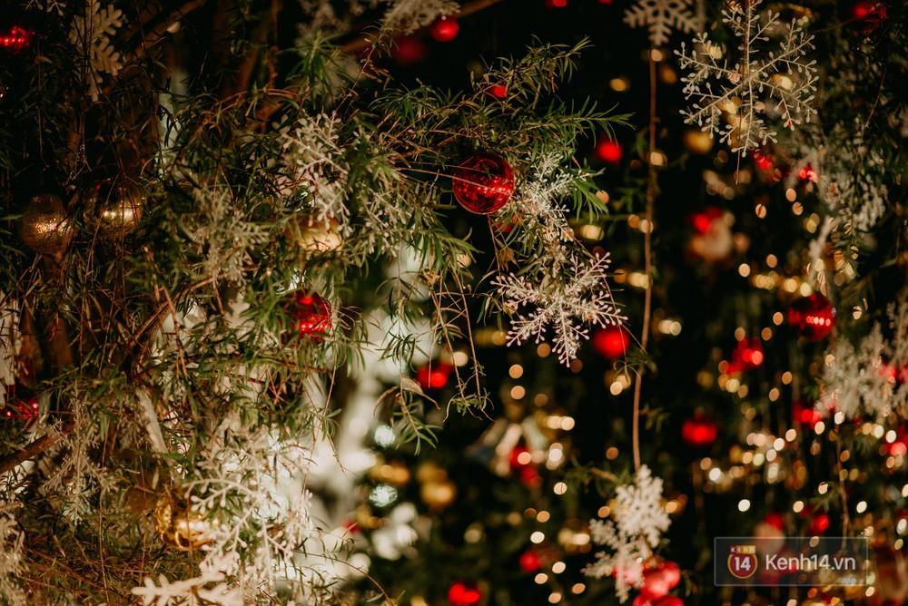 Trường ĐH con nhà giàu này đang là trường trang trí Noel đẹp nhất nước, có máy phun tuyết nhân tạo, tha hồ sống ảo - Ảnh 13.
