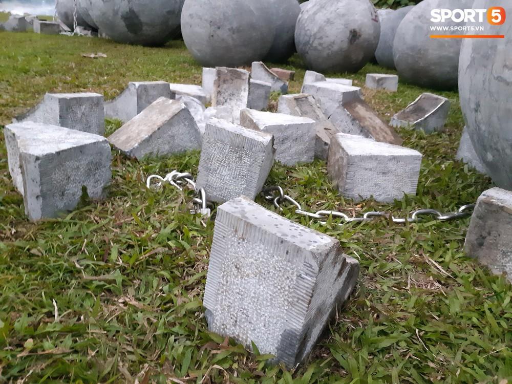 Đã tìm ra vị trí bí ẩn của 40 quả cầu đá sau khi bị di dời khỏi sân Mỹ Đình - Ảnh 6.