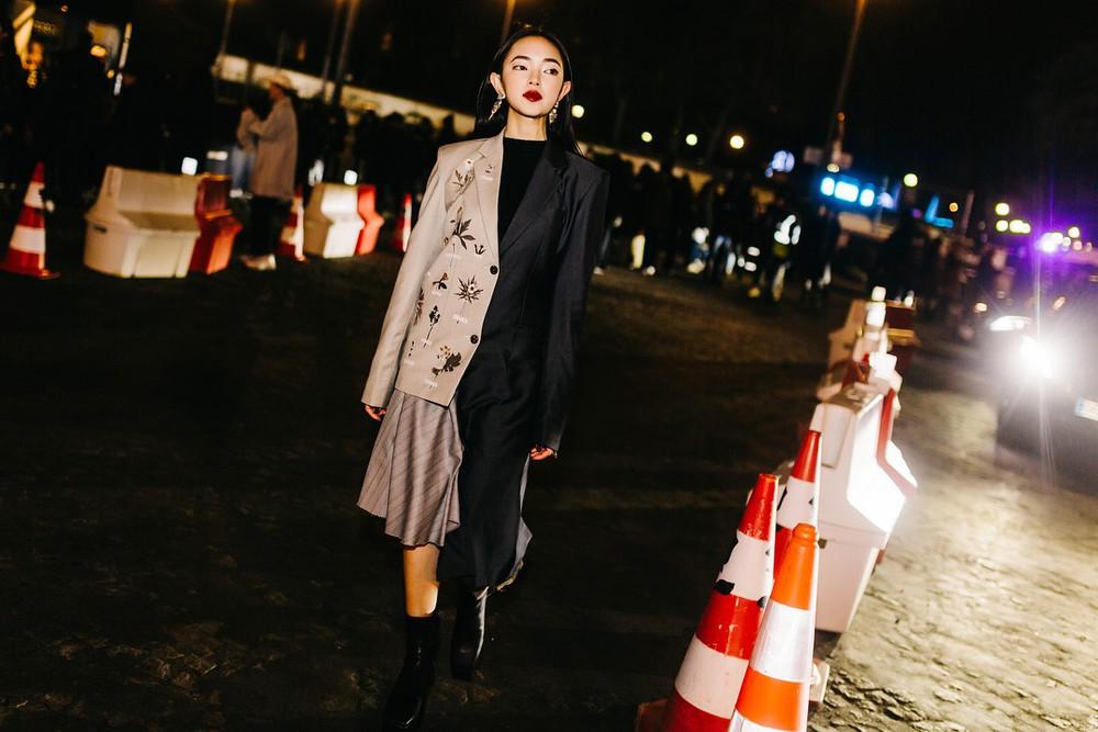 Châu Bùi - Decao tay trong tay vừa tình vừa chất đi dự show Saint Laurent tại Paris Fashion Week - Ảnh 6.