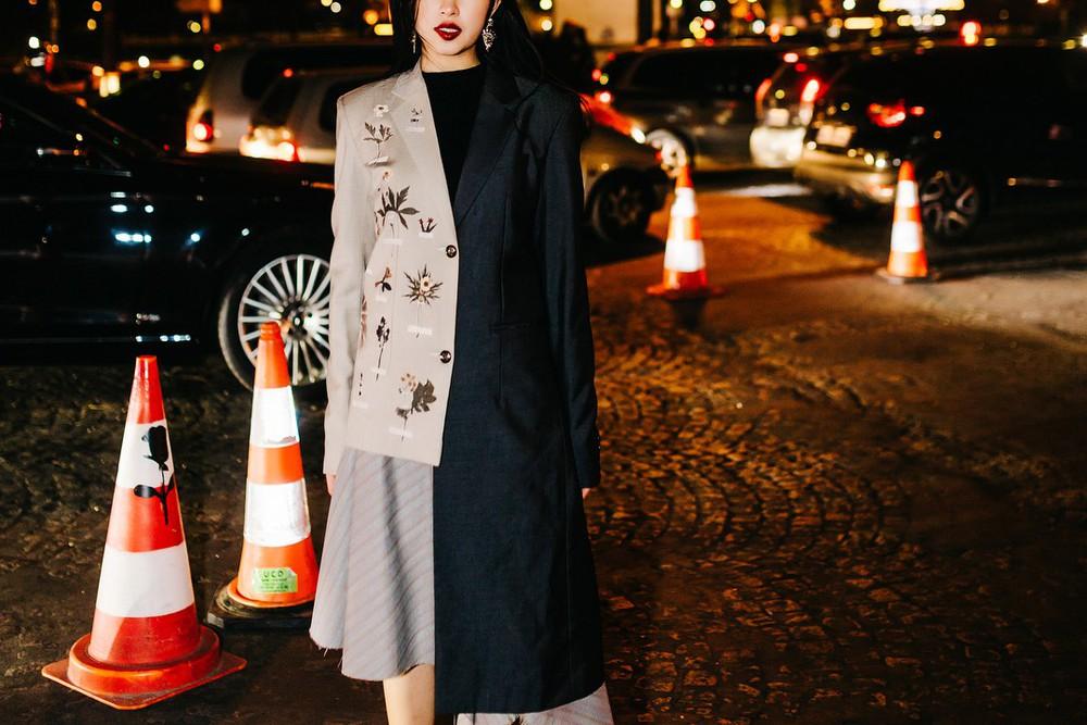 Châu Bùi - Decao tay trong tay vừa tình vừa chất đi dự show Saint Laurent tại Paris Fashion Week - Ảnh 8.