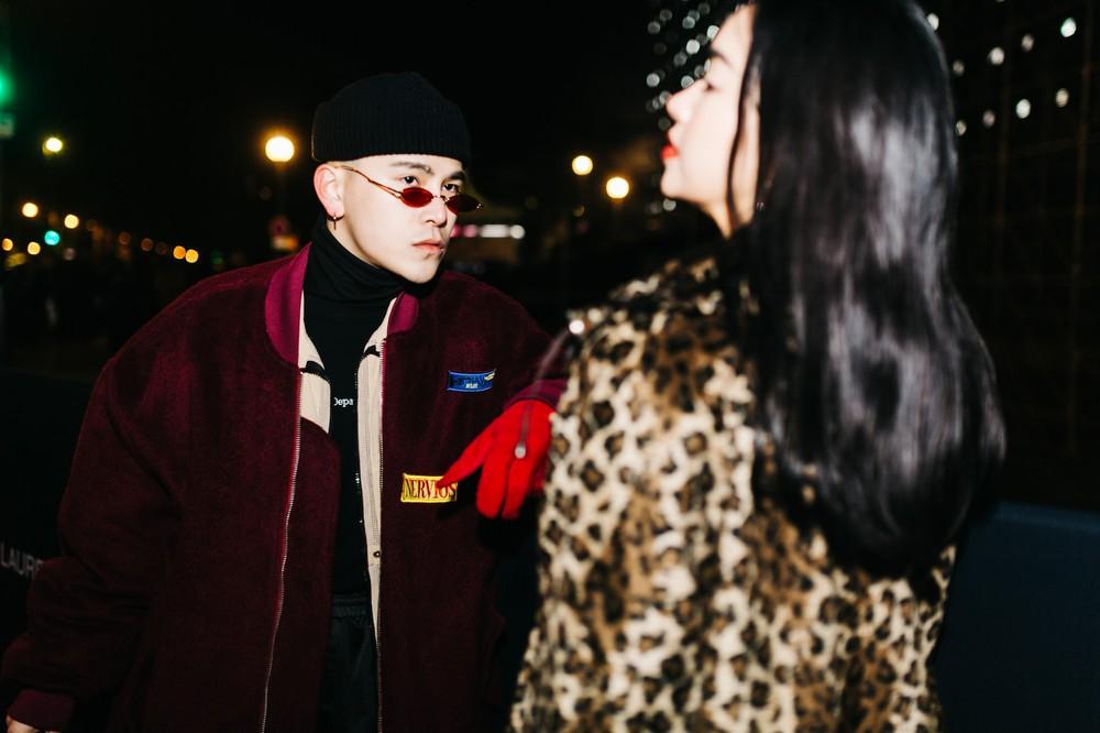 Châu Bùi - Decao tay trong tay vừa tình vừa chất đi dự show Saint Laurent tại Paris Fashion Week - Ảnh 3.