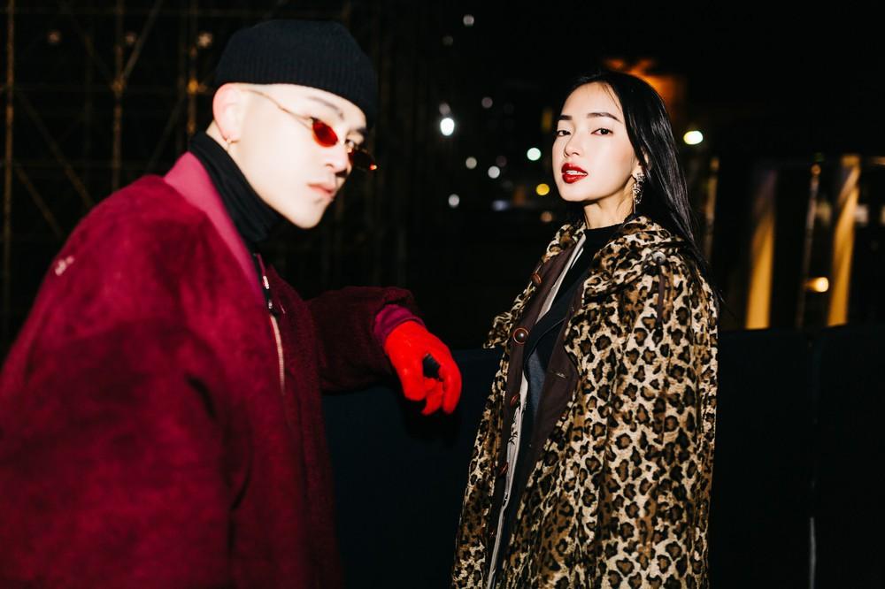 Châu Bùi - Decao tay trong tay vừa tình vừa chất đi dự show Saint Laurent tại Paris Fashion Week - Ảnh 2.