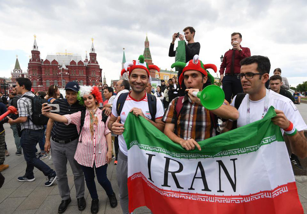 Fan thế giới tạo ra bầu không khí lễ hội ở Nga trong ngày khai mạc World Cup 2018 - Ảnh 10.