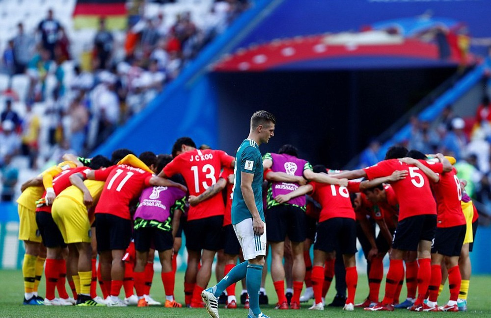 15 bức ảnh biểu tượng của một World Cup 2018 đầy cảm xúc - Ảnh 6.