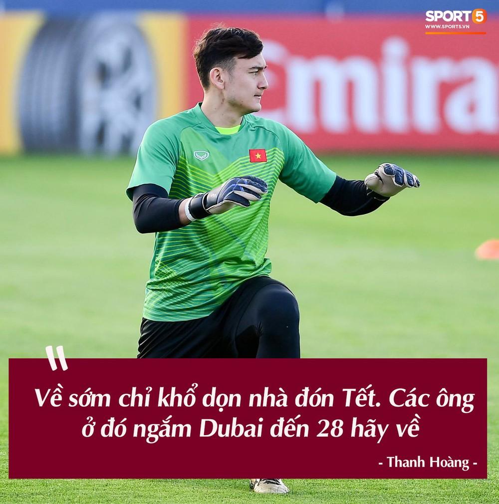 Trước vòng đấu loại trực tiếp Asian Cup 2019, Đặng Văn Lâm tuyên bố: Anh sẽ về, nhưng không phải hôm nay - Ảnh 6.