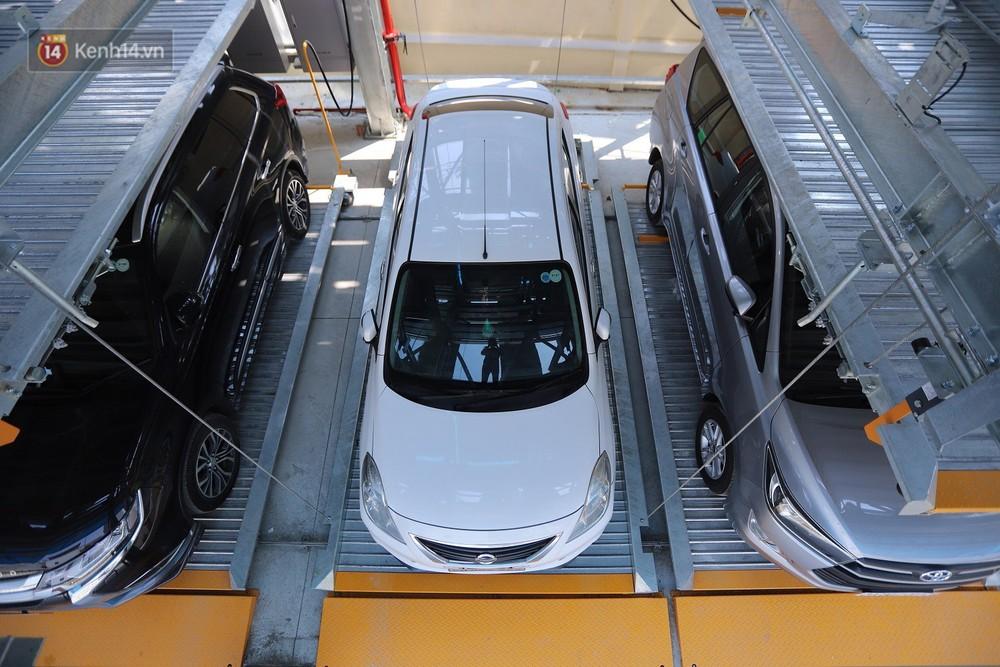 Cận cảnh bãi đỗ xe 6 tầng thông minh, tự động xếp hình đầu tiên ở Đà Nẵng - Ảnh 16.