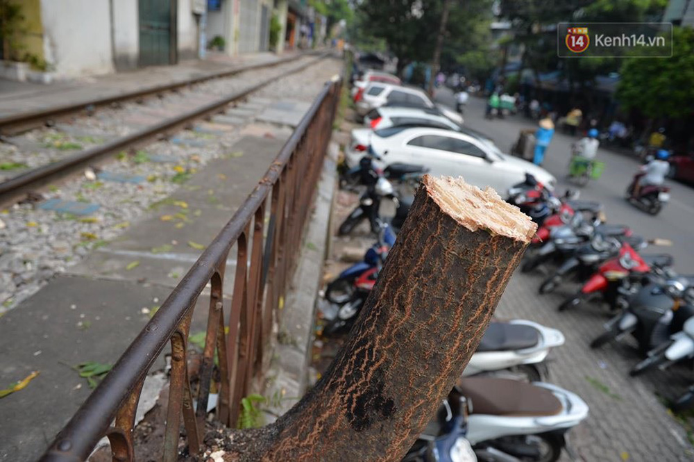 Chùm ảnh: Rào lại các lối lên tự phát, đèn lồng trang trí bị gỡ bỏ nhưng phố đường tàu Hà Nội vẫn đông đúc ngày sáng cuối tuần - Ảnh 4.
