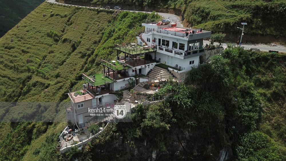 Ảnh, clip: Cận cảnh toà nhà 7 tầng xây dựng trái phép trên đỉnh Mã Pì Lèng - Ảnh 4.