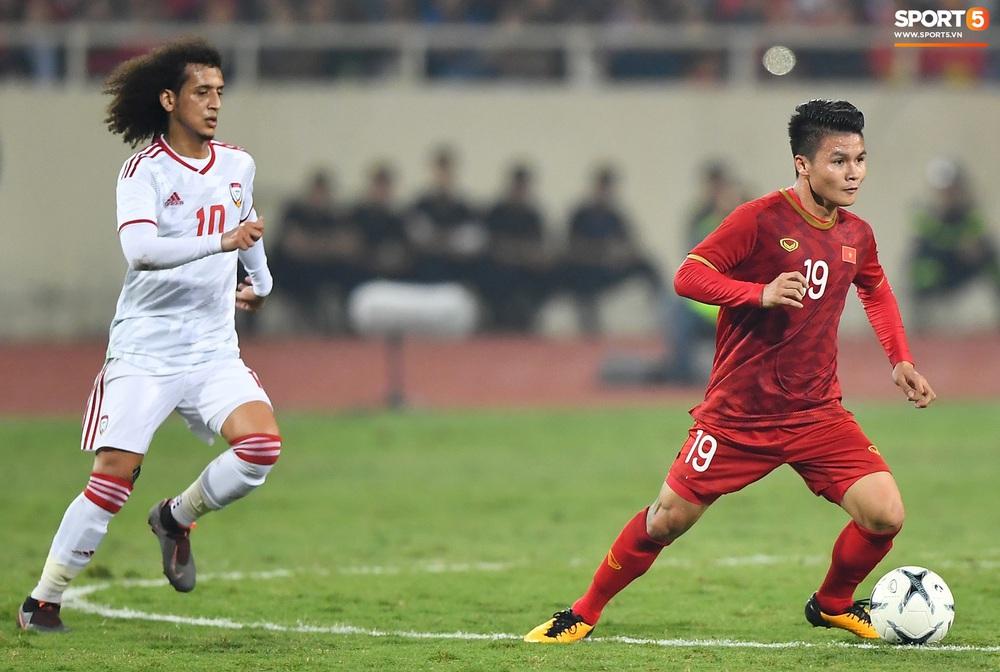 """Không trực tiếp ghi bàn, Quang Hải vẫn khiến hậu vệ UAE khiếp sợ với đôi chân """"ma thuật"""" - Ảnh 2."""