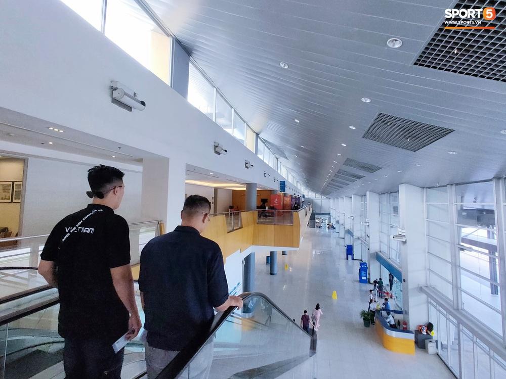 Trung tâm báo chí SEA Games 2019: Chủ nhà làm việc rất thủ công, nhiều công trình còn ngổn ngang, nhưng riêng canteen cho phóng viên thì xịn xò bậc nhất - Ảnh 5.