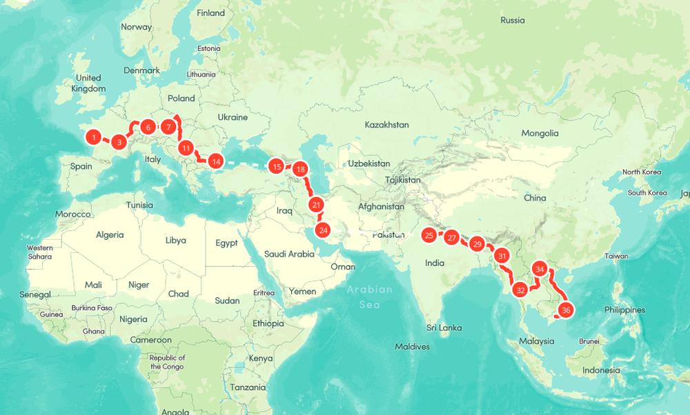 Chồng Pháp vợ Việt cùng đạp xe từ nhà anh tới nhà em 16.000 km và hành trình yêu thương mang tên Nón lá - Ảnh 4.