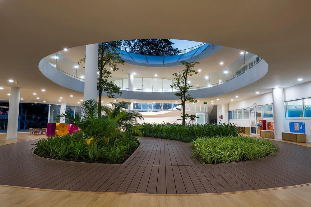 Thiết kế siêu đẹp và độc đáo, ngôi trường ở Bến Tre được tạp chí kiến trúc hàng đầu thế giới hết lời ngợi ca - Ảnh 7.