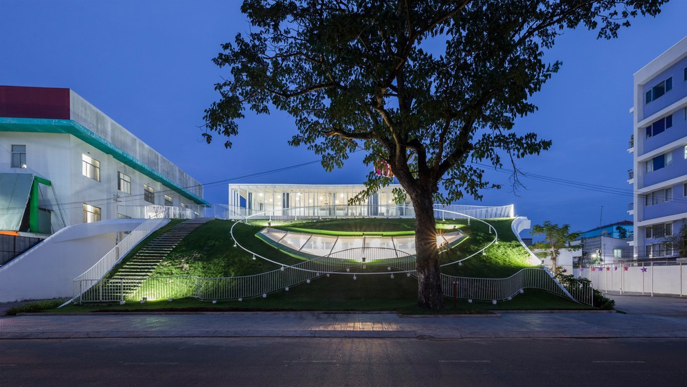 Thiết kế siêu đẹp và độc đáo, ngôi trường ở Bến Tre được tạp chí kiến trúc hàng đầu thế giới hết lời ngợi ca - Ảnh 9.