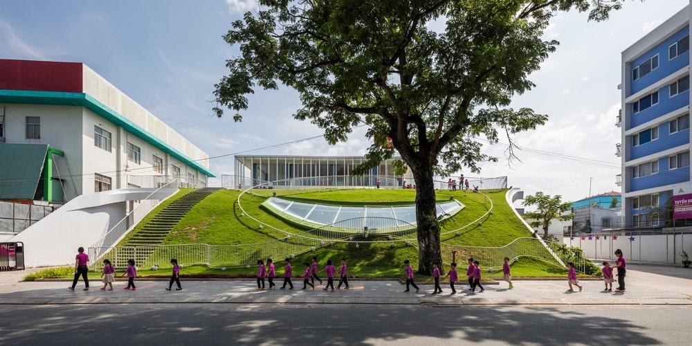 Thiết kế siêu đẹp và độc đáo, ngôi trường ở Bến Tre được tạp chí kiến trúc hàng đầu thế giới hết lời ngợi ca - Ảnh 5.