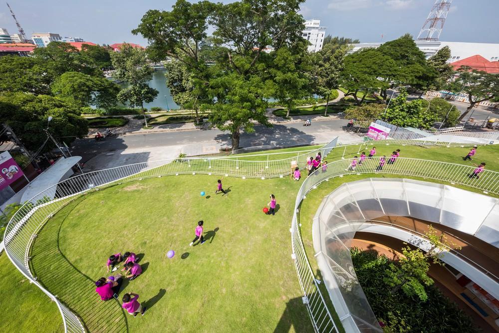 Thiết kế siêu đẹp và độc đáo, ngôi trường ở Bến Tre được tạp chí kiến trúc hàng đầu thế giới hết lời ngợi ca - Ảnh 10.