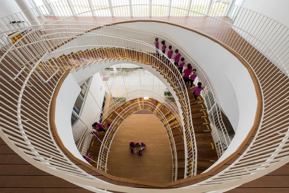 Thiết kế siêu đẹp và độc đáo, ngôi trường ở Bến Tre được tạp chí kiến trúc hàng đầu thế giới hết lời ngợi ca - Ảnh 2.
