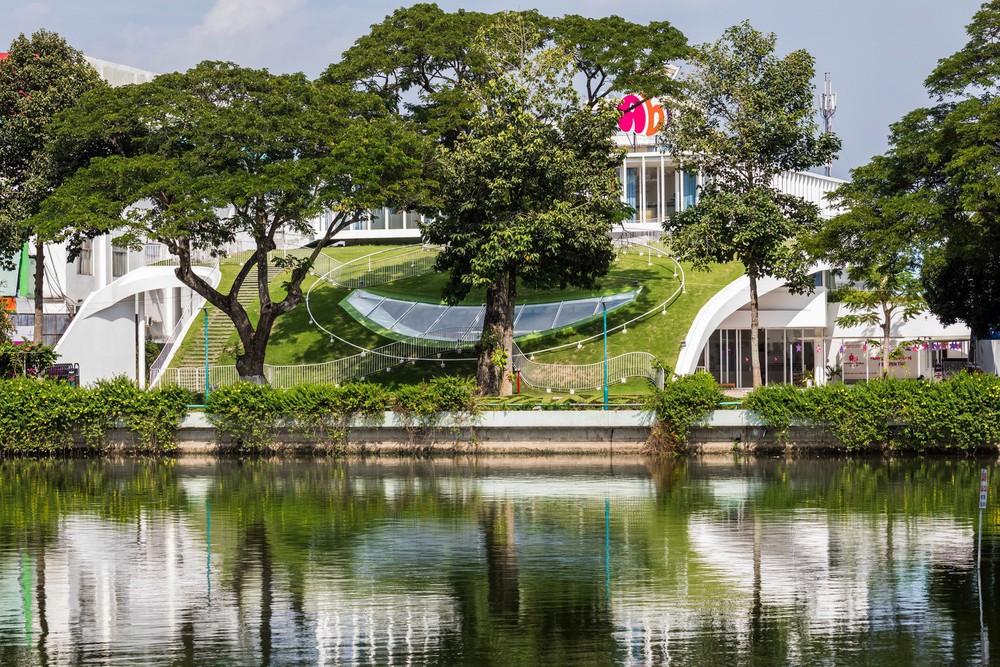 Thiết kế siêu đẹp và độc đáo, ngôi trường ở Bến Tre được tạp chí kiến trúc hàng đầu thế giới hết lời ngợi ca - Ảnh 11.