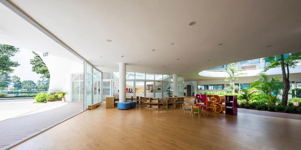 Thiết kế siêu đẹp và độc đáo, ngôi trường ở Bến Tre được tạp chí kiến trúc hàng đầu thế giới hết lời ngợi ca - Ảnh 12.