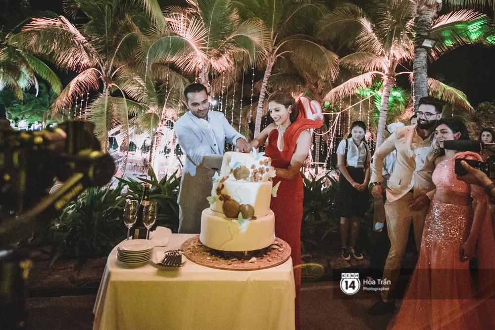 Chùm ảnh: Những khoảnh khắc ấn tượng nhất trong hôn lễ chính thức của cặp đôi tỷ phú Ấn Độ bên bờ biển Phú Quốc - Ảnh 16.