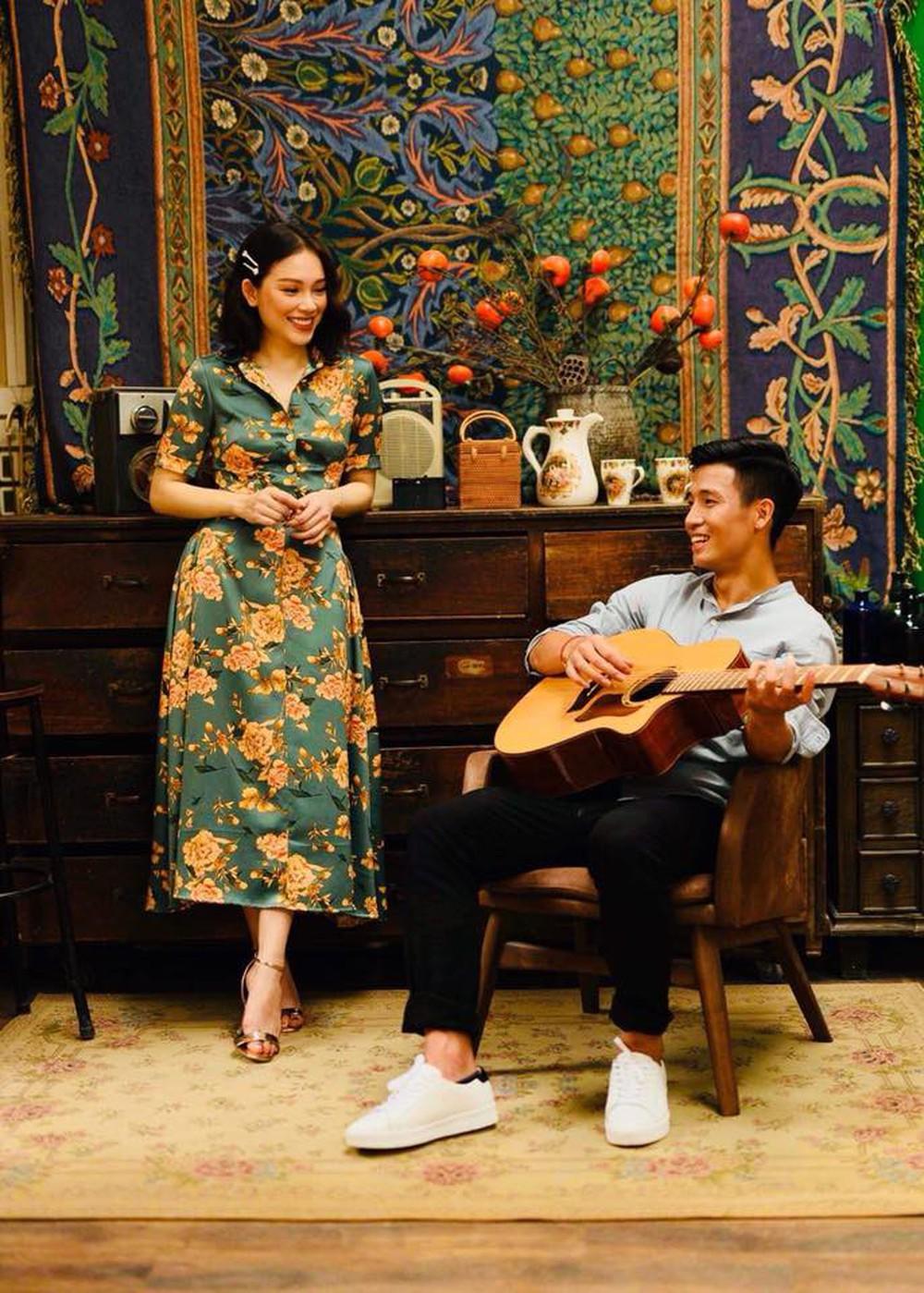 Chú bộ đội Tư Dũng ôm guitar và hát trong bộ ảnh mang phong cách vintage cực ngọt ngào - Ảnh 5.