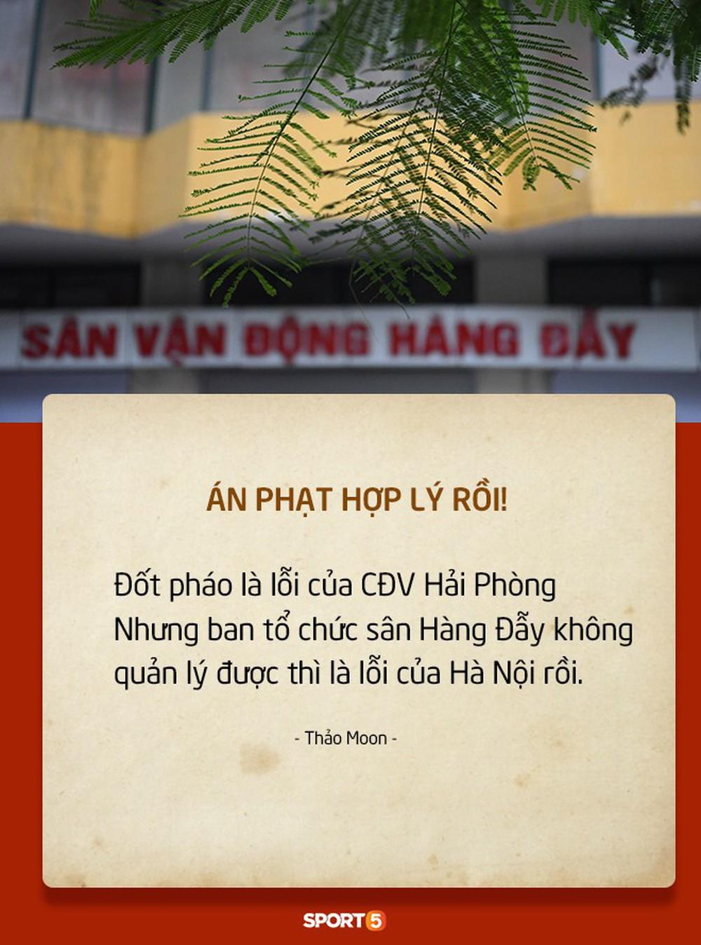Fan Việt tranh cãi nảy lửa chuyện sân Hàng Đẫy bị treo vì CĐV Hải Phòng đốt pháo sáng - Ảnh 3.