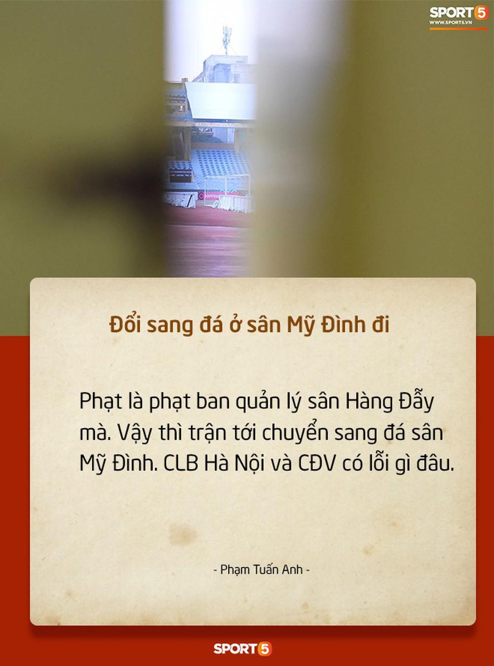 Fan Việt tranh cãi nảy lửa chuyện sân Hàng Đẫy bị treo vì CĐV Hải Phòng đốt pháo sáng - Ảnh 6.