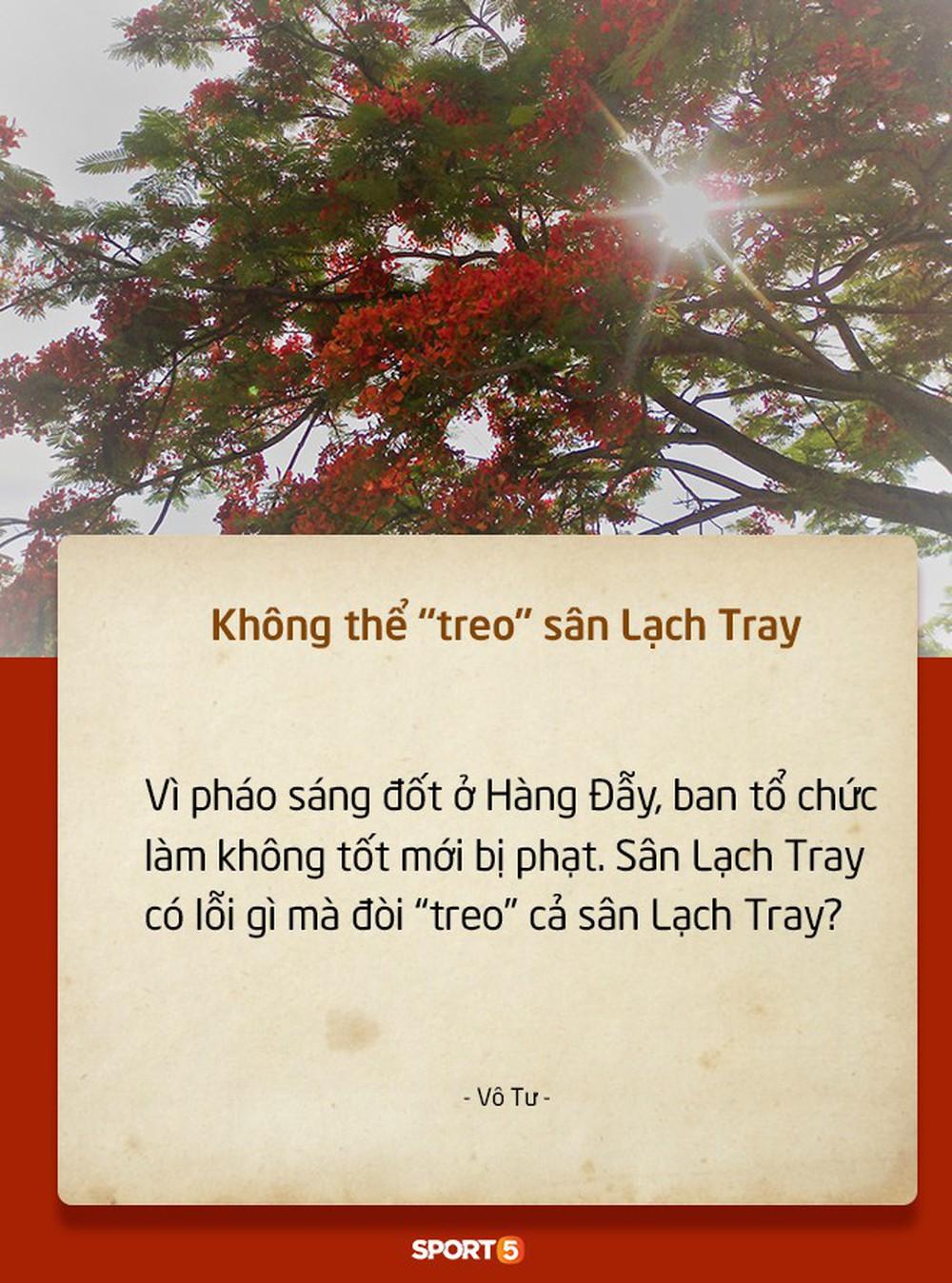 Fan Việt tranh cãi nảy lửa chuyện sân Hàng Đẫy bị treo vì CĐV Hải Phòng đốt pháo sáng - Ảnh 9.
