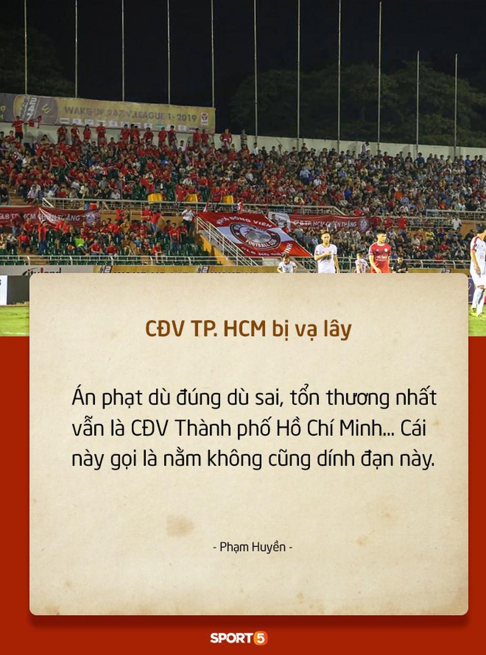 Fan Việt tranh cãi nảy lửa chuyện sân Hàng Đẫy bị treo vì CĐV Hải Phòng đốt pháo sáng - Ảnh 7.