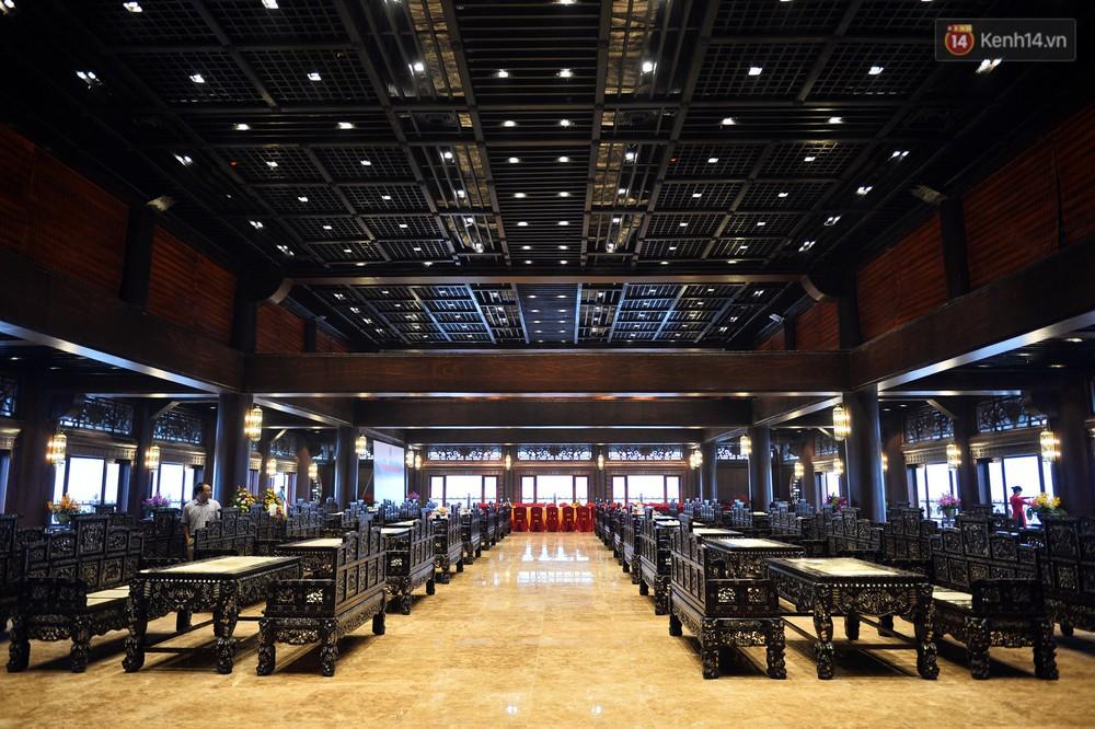 Cảnh hoành tráng của khu trung tâm hội nghị quốc tế tại chùa Tam Chúc - nơi diễn ra đại lễ Vesak Liên Hợp Quốc 2019 - Ảnh 14.