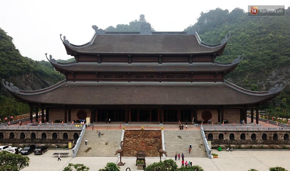 Cảnh hoành tráng của khu trung tâm hội nghị quốc tế tại chùa Tam Chúc - nơi diễn ra đại lễ Vesak Liên Hợp Quốc 2019 - Ảnh 16.