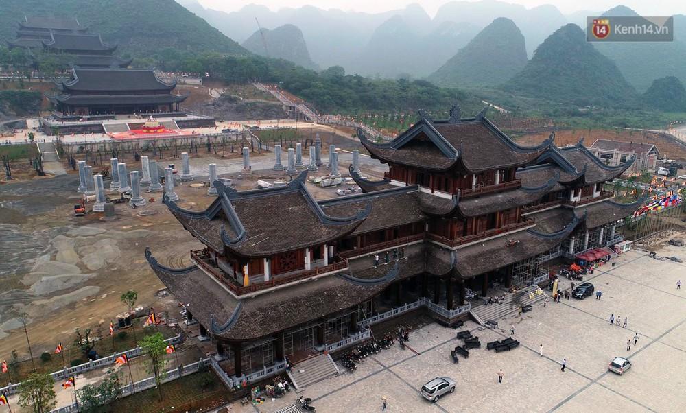 Cảnh hoành tráng của khu trung tâm hội nghị quốc tế tại chùa Tam Chúc - nơi diễn ra đại lễ Vesak Liên Hợp Quốc 2019 - Ảnh 2.