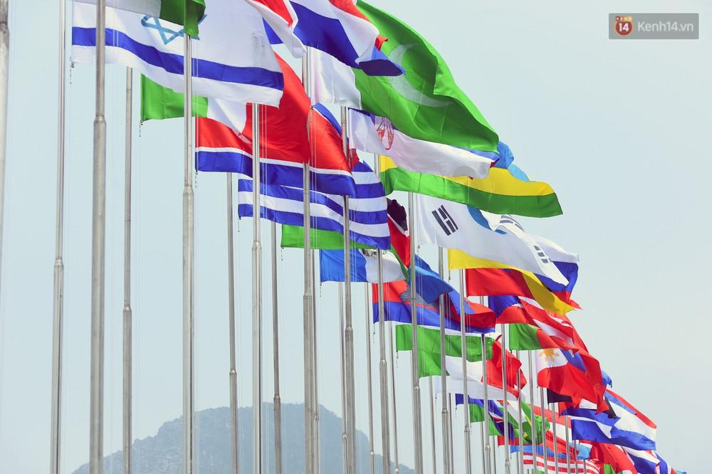 Cảnh hoành tráng của khu trung tâm hội nghị quốc tế tại chùa Tam Chúc - nơi diễn ra đại lễ Vesak Liên Hợp Quốc 2019 - Ảnh 7.