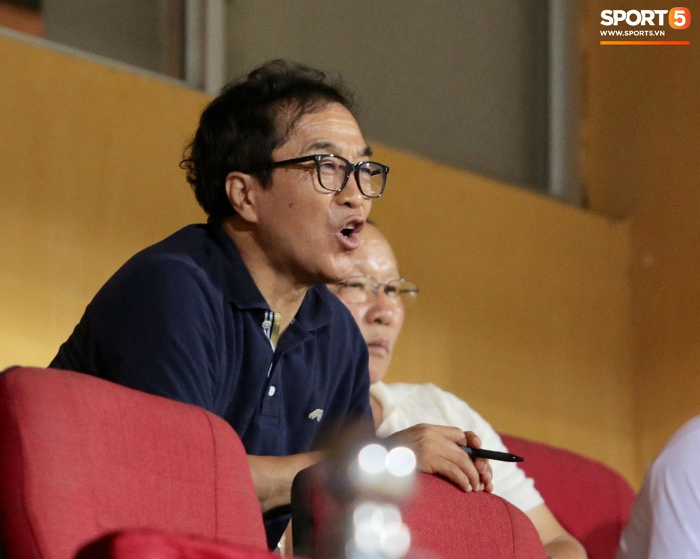 HLV Park Hang-seo và Quang Hải ăn mừng cuồng nhiệt khi chứng kiến Đức Huy lập cú đúp - Ảnh 5.