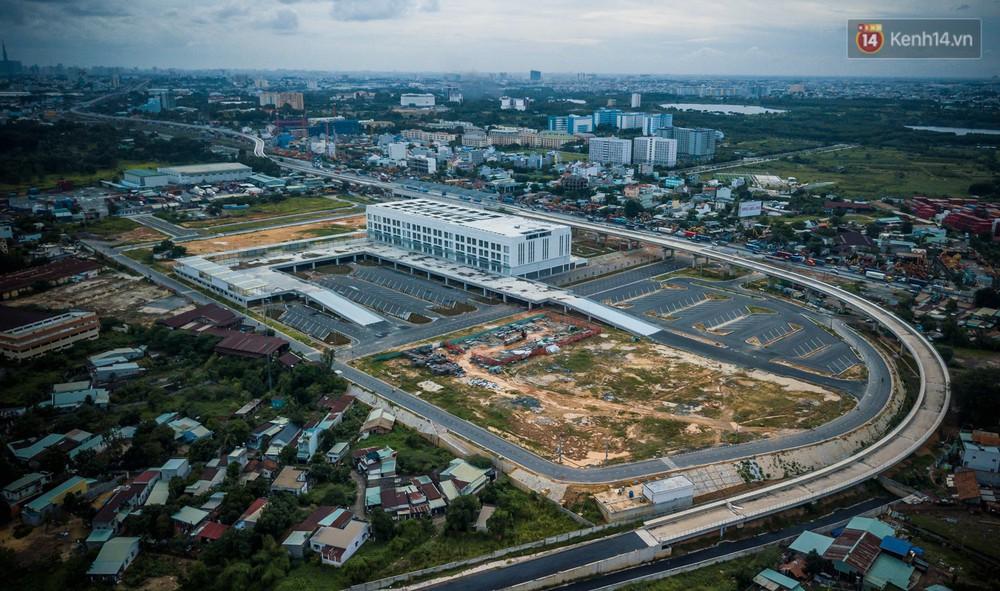 Bên trong khu phức hợp bến xe Miền Đông mới, vốn đầu tư 4.000 tỉ đồng trước ngày đi vào hoạt động - Ảnh 18.