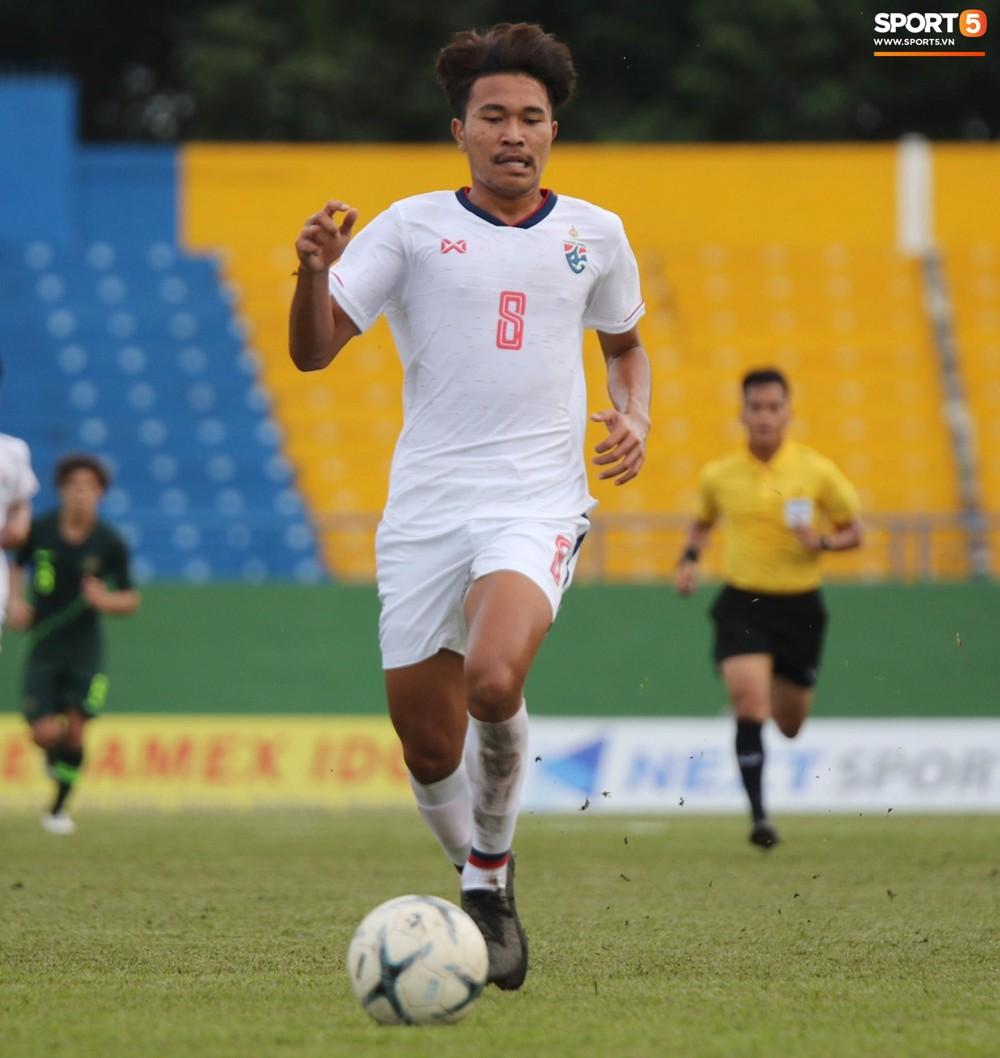 Thi đấu với sơ đồ 3 hậu vệ giống thầy Park, U18 Thái Lan vẫn nhận cái kết đắng trước Australia tại giải U18 Đông Nam Á - Ảnh 6.