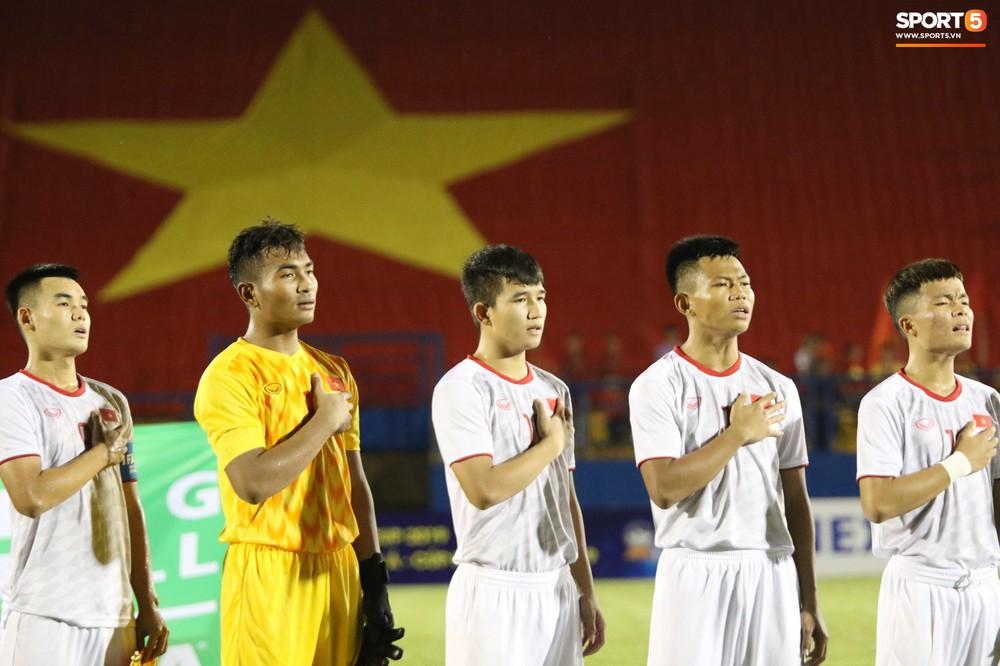 U18 Việt Nam thắng tưng bừng, sẵn sàng đọ sức với Thái Lan tại giải U18 Đông Nam Á - Ảnh 1.