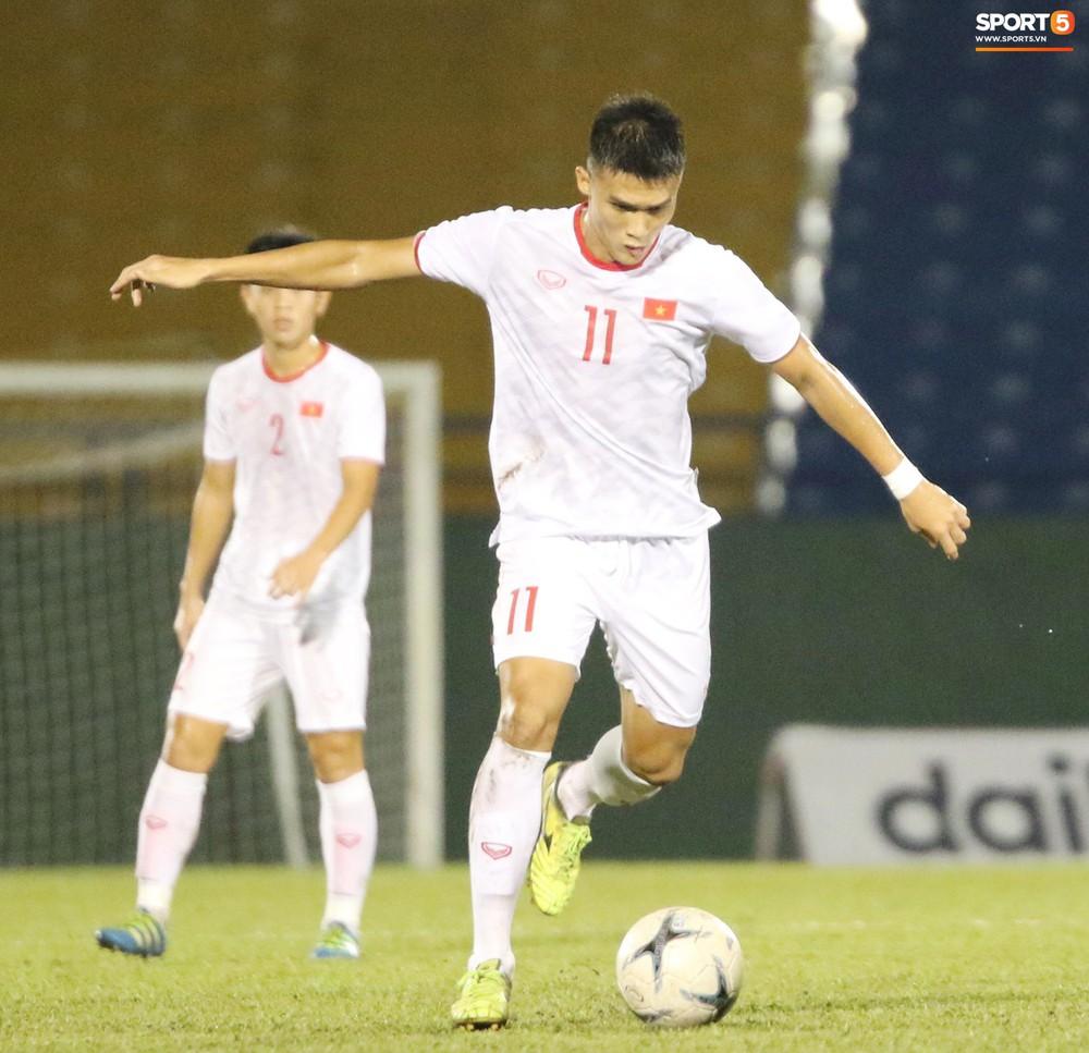 U18 Việt Nam thắng tưng bừng, sẵn sàng đọ sức với Thái Lan tại giải U18 Đông Nam Á - Ảnh 4.