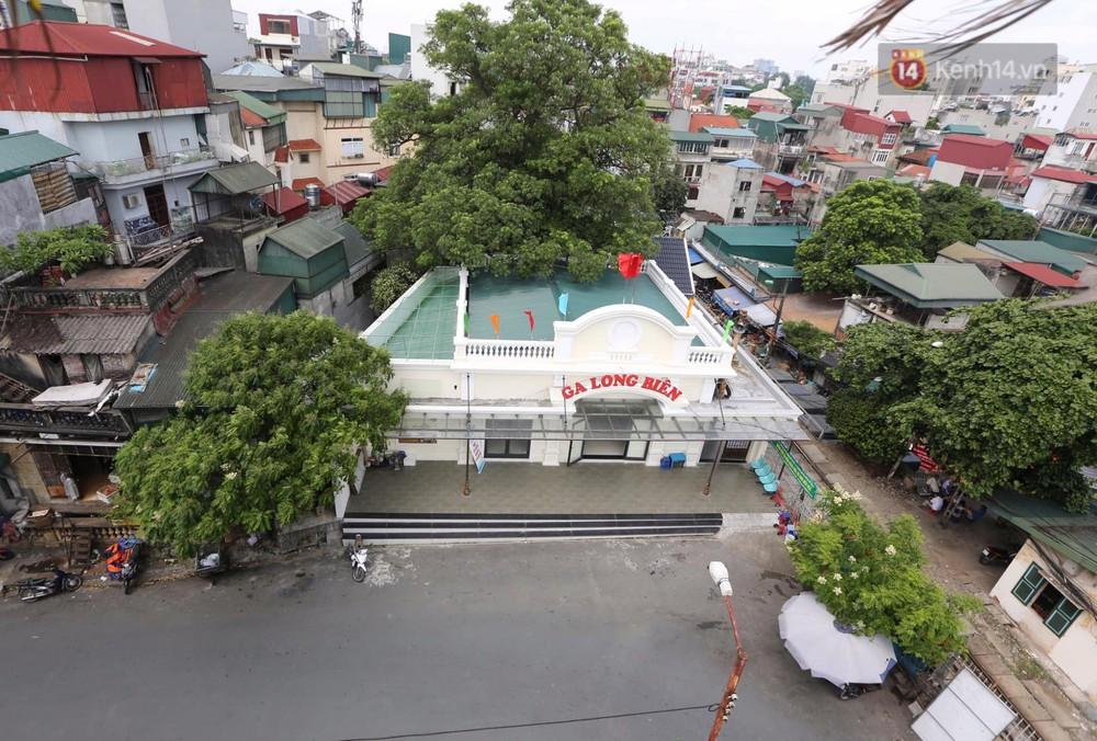 Ảnh: Người dân thủ đô ngỡ ngàng trước diện mạo mới ga Long Biên sau hơn 100 năm hoạt động - Ảnh 3.