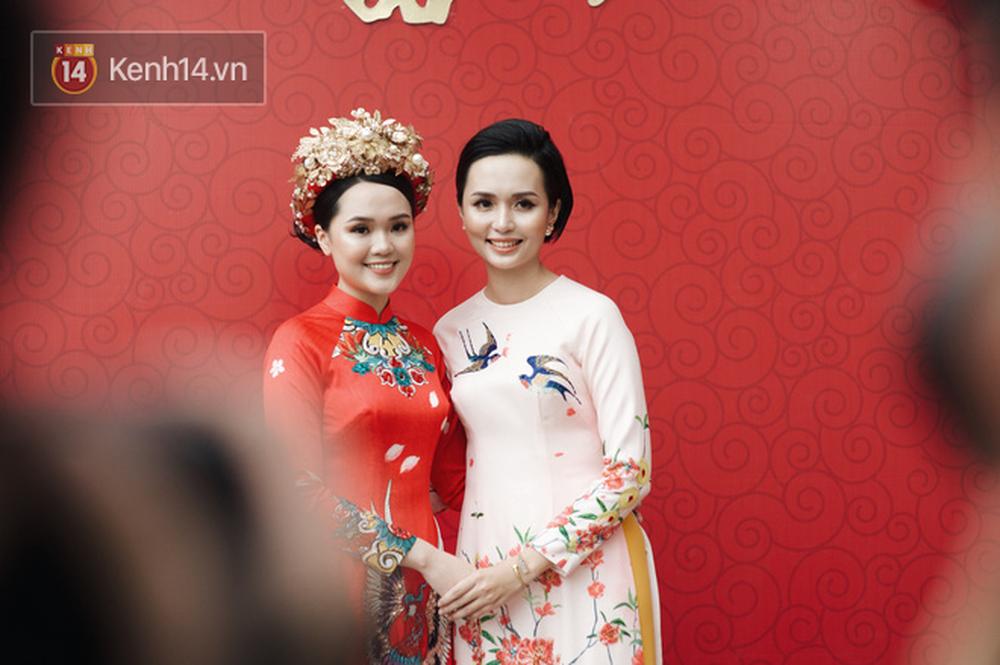 Đám hỏi Duy Mạnh - Quỳnh Anh: Cô dâu chú rể cảm ơn quan khách, kết thúc buổi lễ vất vả nhưng đầy hạnh phúc - Ảnh 13.