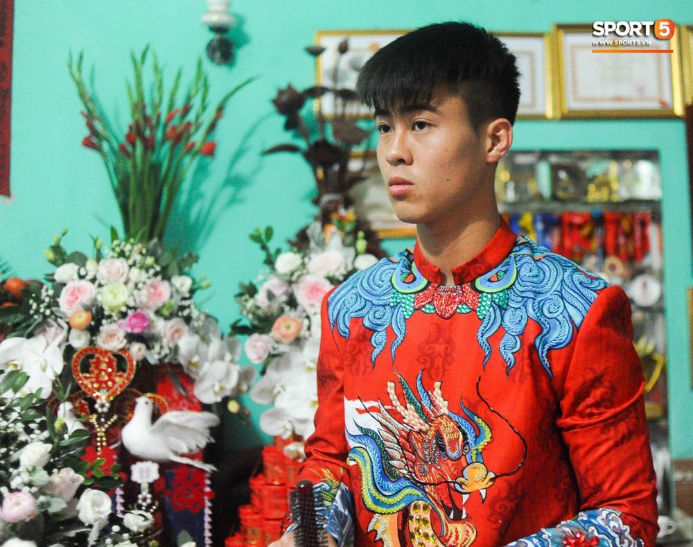 Đám hỏi Duy Mạnh - Quỳnh Anh: Cô dâu chú rể cảm ơn quan khách, kết thúc buổi lễ vất vả nhưng đầy hạnh phúc - Ảnh 39.