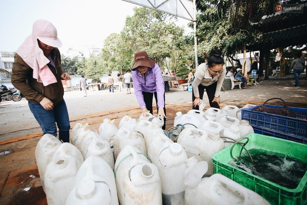 Ảnh: Chi 20 triệu mua cá chép rồi đi thuyền ra giữa sông để phóng sinh, người phụ nữ Sài Gòn vẫn choáng đặc khi thấy gã thanh niên lao theo chích điện để vớt cá - Ảnh 2.
