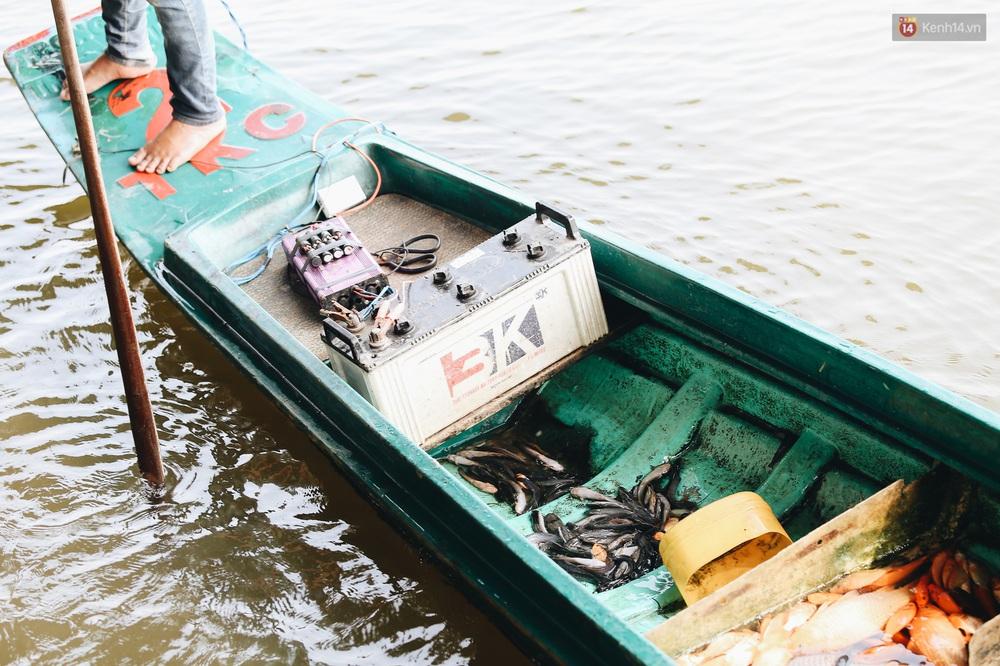 Ảnh: Chi 20 triệu mua cá chép rồi đi thuyền ra giữa sông để phóng sinh, người phụ nữ Sài Gòn vẫn choáng đặc khi thấy gã thanh niên lao theo chích điện để vớt cá - Ảnh 9.