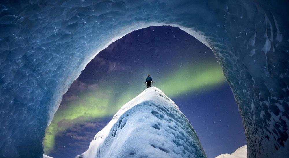 Những bức ảnh hiện tượng cực quang ở đảo Greenland đầy choáng ngợp khiến người xem cảm giác như đang lạc ra ngoài không gian - Ảnh 2.