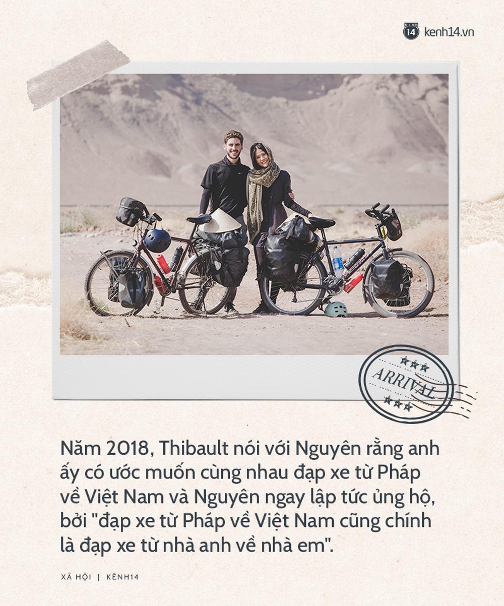 Chồng Pháp vợ Việt cùng đạp xe từ nhà anh tới nhà em 16.000 km và hành trình yêu thương mang tên Nón lá - Ảnh 1.