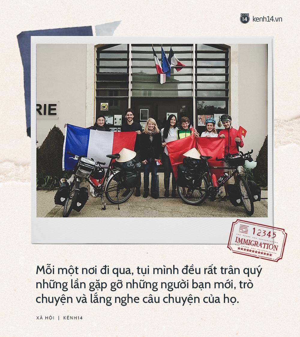 Chồng Pháp vợ Việt cùng đạp xe từ nhà anh tới nhà em 16.000 km và hành trình yêu thương mang tên Nón lá - Ảnh 11.