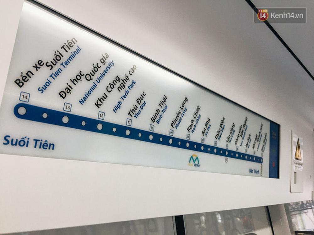 Cận cảnh nội thất hiện đại, cực xịn của đoàn tàu Metro số 1 đầu tiên vừa về Sài Gòn - Ảnh 14.