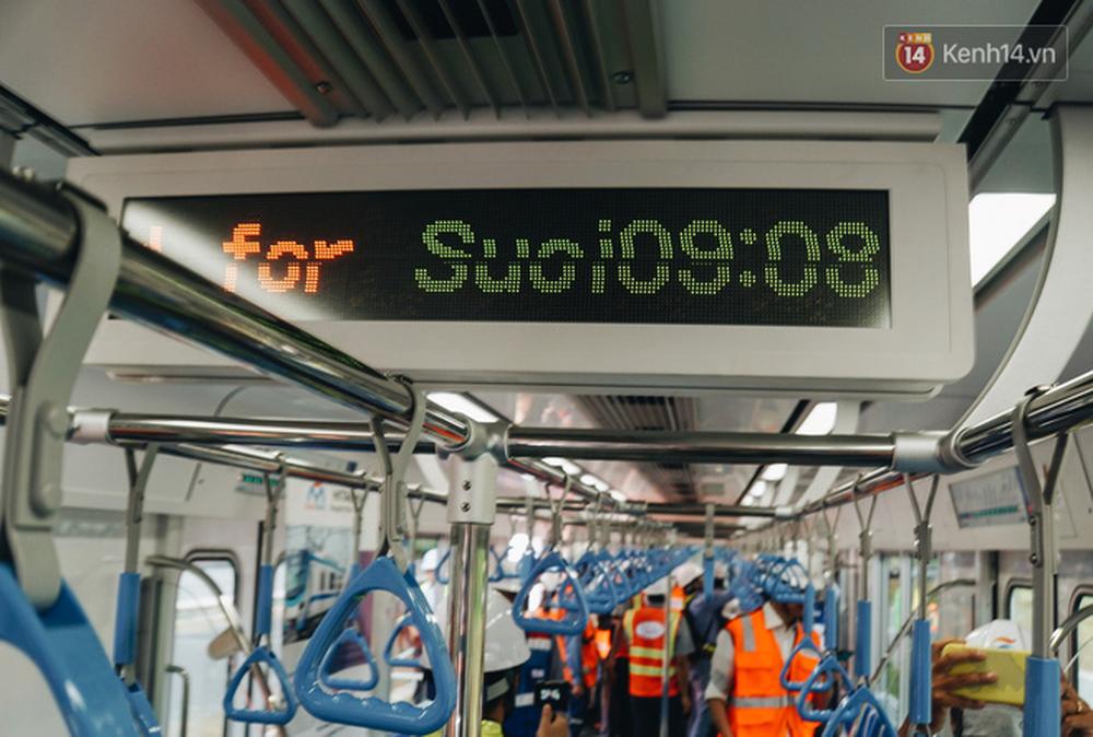 Cận cảnh nội thất hiện đại, cực xịn của đoàn tàu Metro số 1 đầu tiên vừa về Sài Gòn - Ảnh 6.